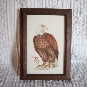 Vintage 76' Eagle Warner Homestead Artwork